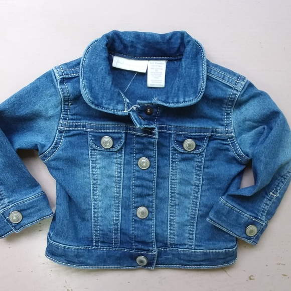 Denim Jacket Boys Baby Toddler Kids Jeans Outwear Coat Clothes 12 Months 7 nwt